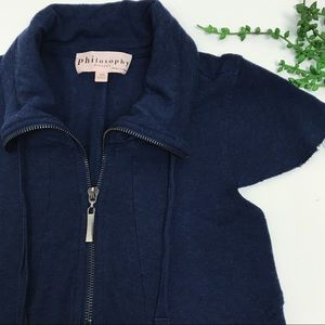 Philosophy | Navy Casual Dress with Pockets